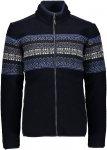 CMP M Jacket Norwegian Style B Blau / Schwarz   Größe 54   Herren Isolationsja
