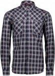 CMP Shirt Popeline Kariert, Male Langarm-Hemd, 52