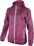 CMP W FIX Hood Jacket Checkered Lila | Größe 48 | Damen Regenjacke