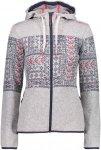 CMP W FIX Hood Jacket Knitted Norwegian | Damen Freizeitjacke