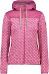 CMP FIX Hood Jacket Stars Pink, Female Freizeitjacke, 46