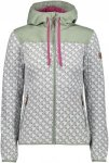 CMP FIX Hood Jacket Stars Grau, Female Freizeitjacke, 44