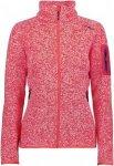 CMP W Knitted Melange Fleece Jacket (Modell Sommer 2018) | Größe 36,40,42,48,4