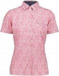 CMP Shirt Polyester Stretch Lila/Violett, Female Kurzarm-Hemd, 36