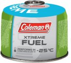 Coleman Ventilgaskartusche Xtreme C300 240g Grün | Größe One Size Brennstoffe