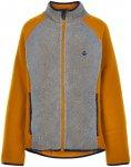 Color Kids Kids Fleece Jacket Gelb / Grau   Größe 104    Freizeitjacke