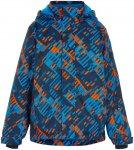 Color Kids Kids Ski Jacket AOP 2 Blau | Größe 140 |  Regenjacke