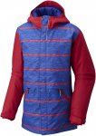 Columbia Girls Slope Star Jacket, Clematis Blue Spacedye Stripe | Größe XS,S,M