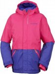 Columbia Girls Slope Star Jacket Blau, Female S -Farbe Punch Pink -Clematis Blue
