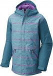 Columbia Girls Slope Star Jacket Grün, Female S -Farbe Pacific Rim Spacedye Str