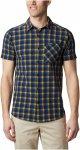 Columbia M Triple Canyon Short Sleeve Shirt Kariert / Blau | Größe XL | Herren
