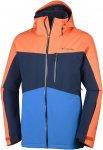 Columbia M Wild Card Jacket Colorblock / Blau / Orange | Größe XL | Herren Iso