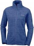 Columbia W Fast Trek Printed Jacket Blau | Damen