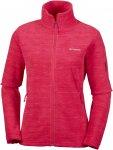 Columbia W Fast Trek Printed Jacket Rot | Größe XL | Damen