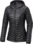 Columbia Powder Lite Light Hooded Jacket Schwarz, Female Daunen Freizeitjacke, M