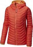 Columbia Powder Lite Light Hooded Jacket Orange, Female Daunen Freizeitjacke, M