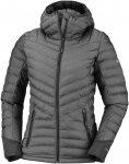 Columbia W Windgates Hooded Jacket Grau | Größe XS | Damen Isolationsjacke