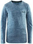 Craft Kids Active Comfort RN Long-Sleeve Blau, 122 -128 -Farbe Teal, 122 -128