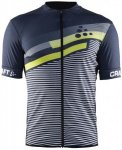 Craft Reel Graphic Jersey Grau, Male S -Farbe Gravel, S