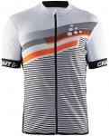 Craft Reel Graphic Jersey Orange, Male Kurzarm-Shirt, S