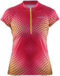 Craft Velo Graphic Jersey Pink, Female Kurzarm-Shirt, XS