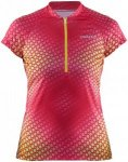 Craft Velo Graphic Jersey Pink, Female Kurzarm-Shirt, M