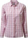 Craghoppers Candelo Bluse Kariert, Female Daunen Langarm-Shirt, 44 -18