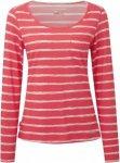 Craghoppers W Nosilife Langarm T-Shirt Damen | Weiß / Pink / Gestreift | 44 / 1