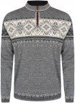 Dale Of Norway M Blyfjell Sweater Grau | Herren Freizeitpullover
