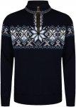 Dale Of Norway M Geiranger Sweater Blau | Herren Freizeitpullover