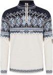 Dale Of Norway M Vail Sweater Colorblock / Weiß | Größe XL | Herren Freizeitp
