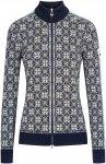 Dale Of Norway W Frida Jacket Blau | Größe S | Damen Isolationsjacke