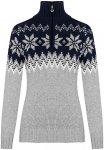 Dale Of Norway W Myking Sweater Colorblock / Grau | Damen Freizeitpullover