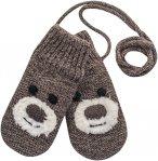 Devold Bear Baby Mitten Braun | Größe Gr. 1 |  Fausthandschuh