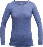Devold Breeze Woman Shirt Blau | Größe XS | Damen Oberteil