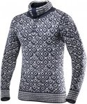 Devold Originals Svalbard Sweater Zip Neck Blau, Freizeitpullover, L