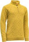 Devold Originals Svalbard Sweater Zip Neck Gelb | Größe M |  Freizeitpullover