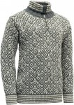 Devold Originals Svalbard Sweater Zip Neck Grau |  Freizeitpullover