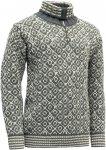 Devold Originals Svalbard Sweater Zip Neck Grau    Freizeitpullover