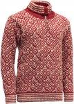 Devold Originals Svalbard Sweater Zip Neck Rot   Größe XS    Freizeitpullover