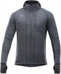 Devold Tinden Spacer MAN Jacket With Hood Grau, Male Merino Isolationsjacke, S