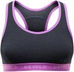 Devold Woman Double Bra Schwarz | Größe XS | Damen Unterwäsche