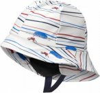 Didriksons Kids Southwest Printed Hat Weiß, Accessoires, 52