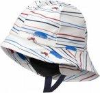 Didriksons Kids Southwest Printed Hat Weiß, Accessoires, 56