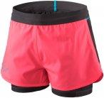 Dynafit W Alpine Pro 2in1 Shorts Pink | Größe 40 | Damen