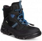 Ecco Kids Snowboarder Schwarz, Gore-Tex® EU 27 -Farbe Black -Black -Cobalt Sy,