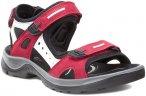 Ecco W Offroad Yucatan Sandal Rot | Größe EU 39 | Damen Sandale