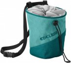 Edelrid Chalk Bag Monoblock Colorblock / Blau | Größe One Size |  Kletterzubeh
