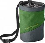 Edelrid Chalk Bag Splitter Twist Colorblock / Grün | Größe One Size |  Klette