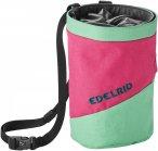 Edelrid Chalk Bag Splitter Twist Colorblock / Grün / Pink | Größe One Size |